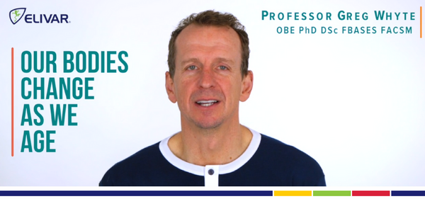How Over 35's Should Use Sports Nutrition - Professor Greg Whyte