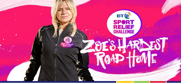 THE HARDEST ROAD HOME RAISES OVER £500,000 FOR SPORT RELIEF