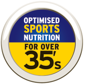Optimised sports nutrition for over 35's