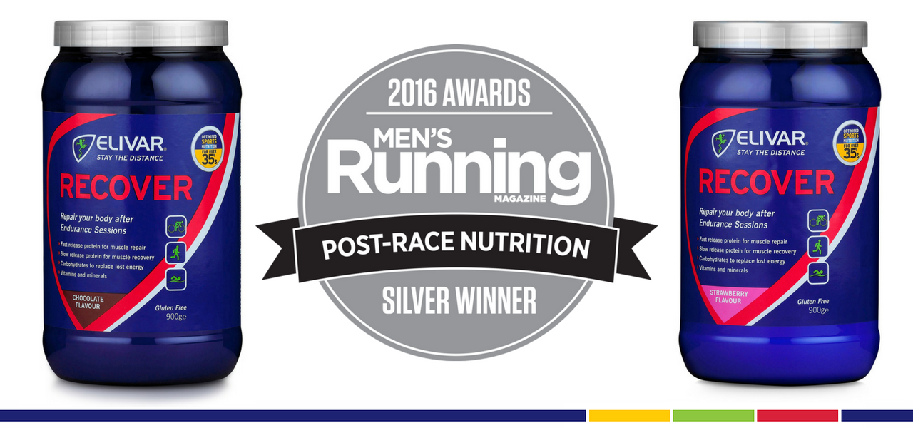 RECOVER - Silver Winner 2016 and 2015 with Men's Running