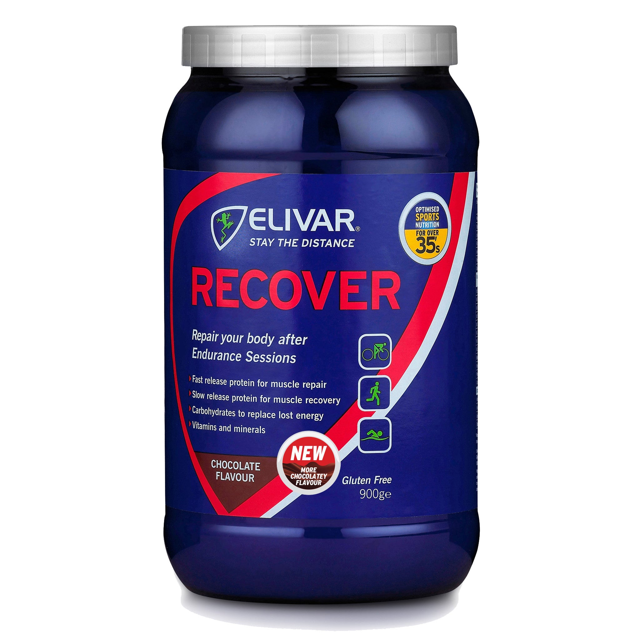 recover post training protein recovery drink mix elivar