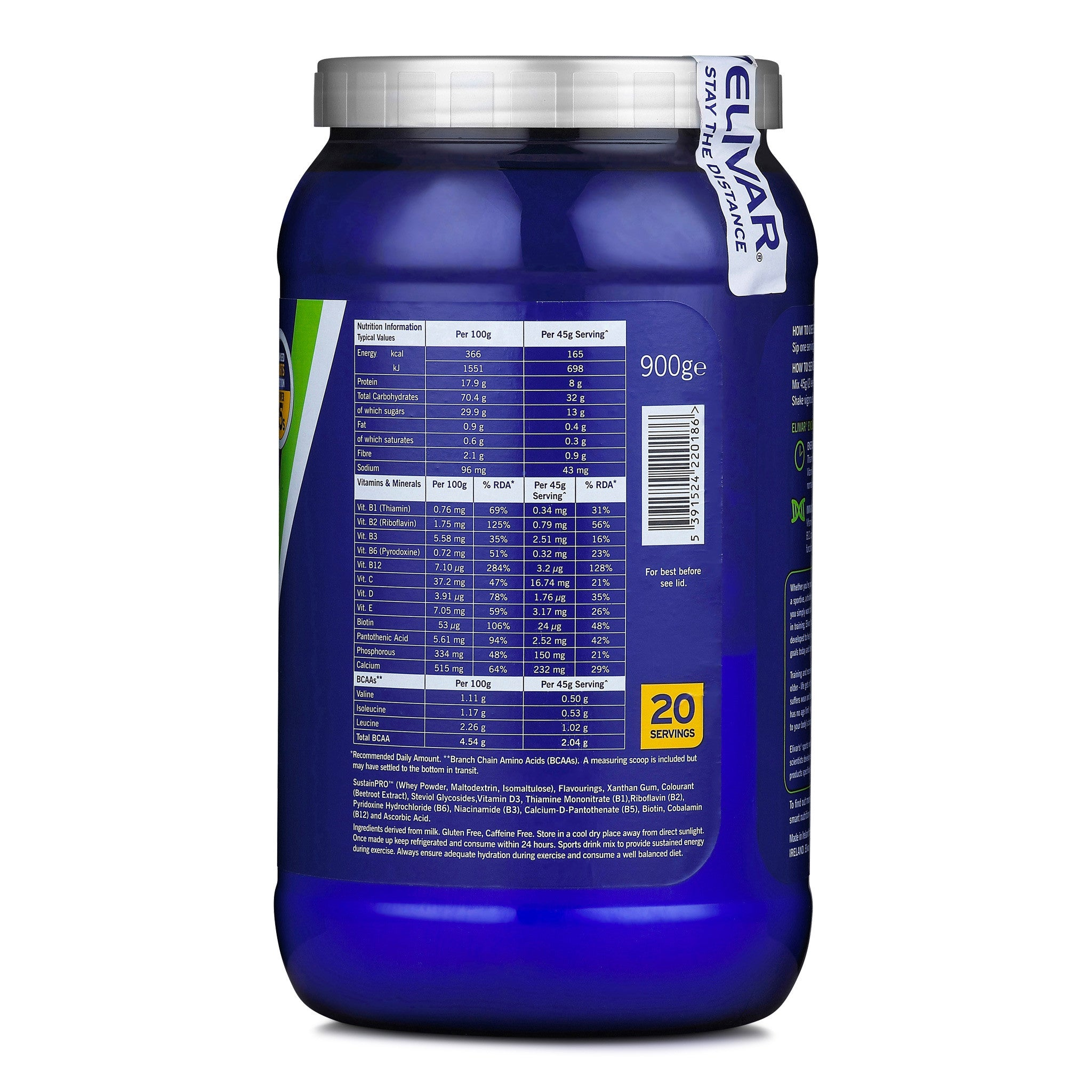 5d6eded21f ENDURE - During Training Energy & Protein Drink Mix - Elivar