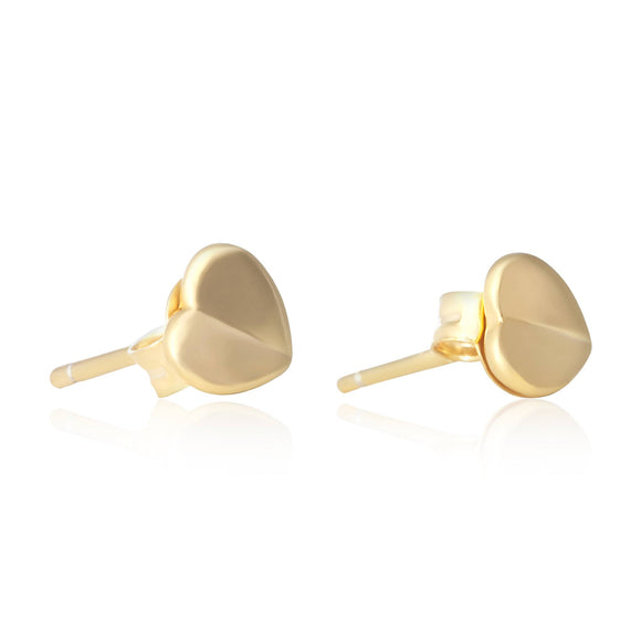 E-7002 Heart Stud Earrings