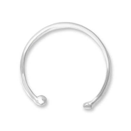 EC-1180 Plain w Bead Ear Cuff | Teeda