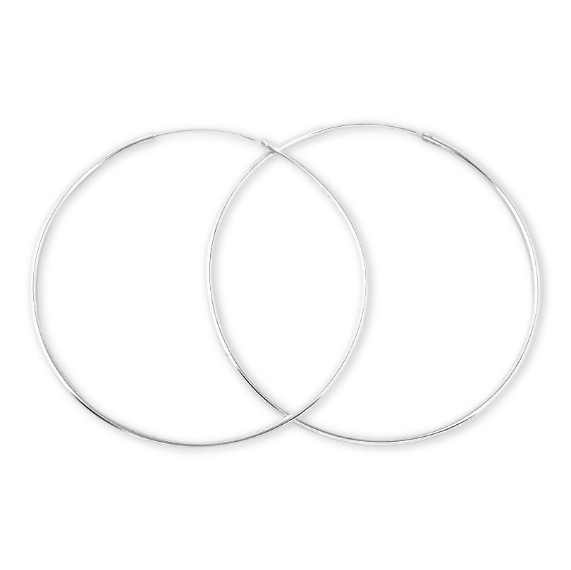 EHC-15 Continuous Hoop Earrings 1.5mm | Teeda