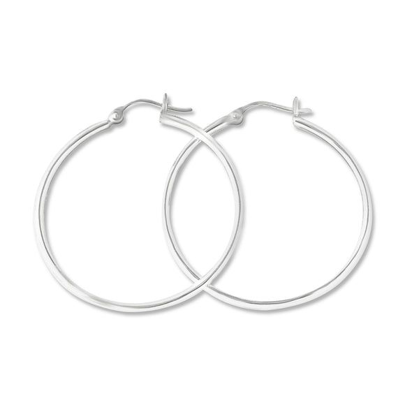 EHS-20 Snap Hoop Earrings 2mm | Teeda