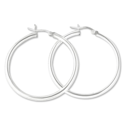 EHS-30 Snap Hoop Earrings 3mm | Teeda