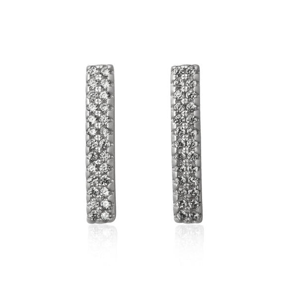 EZ-7029 Cubic Zirconia Earrings