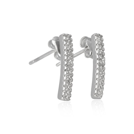 EZ-7029 Cubic Zirconia Earrings | Teeda