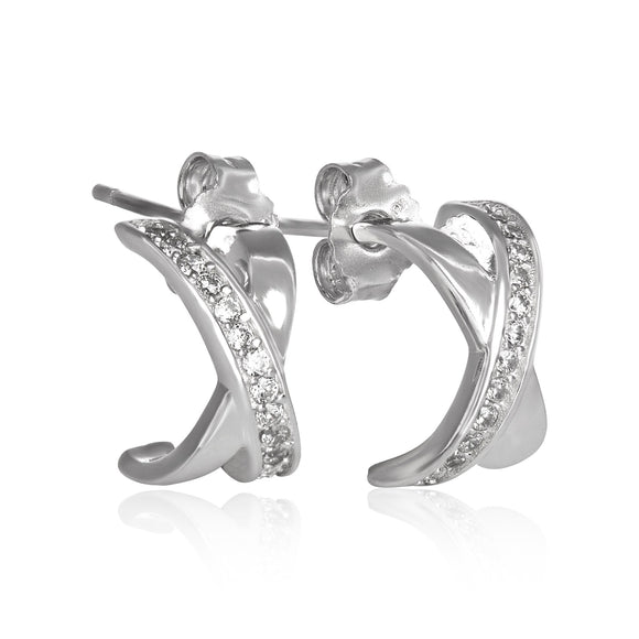 EZ-8052 CZ Earrings | Teeda