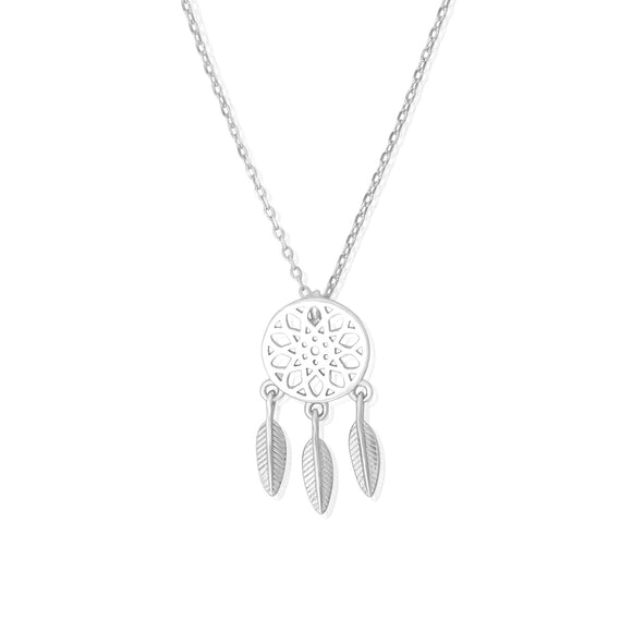 N-7013 Dream Catcher Charm and Necklace Set | Teeda