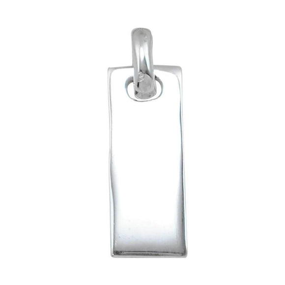 P-1110 Rectangle Bar Charm | Teeda