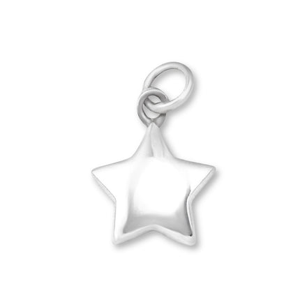 P-1150 Puffy Star Charm | Teeda