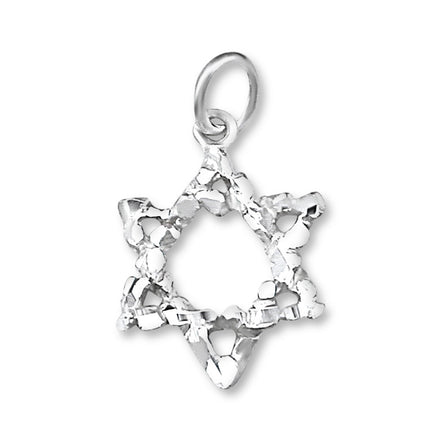P-2310 Jewish Star of David Charm | Teeda