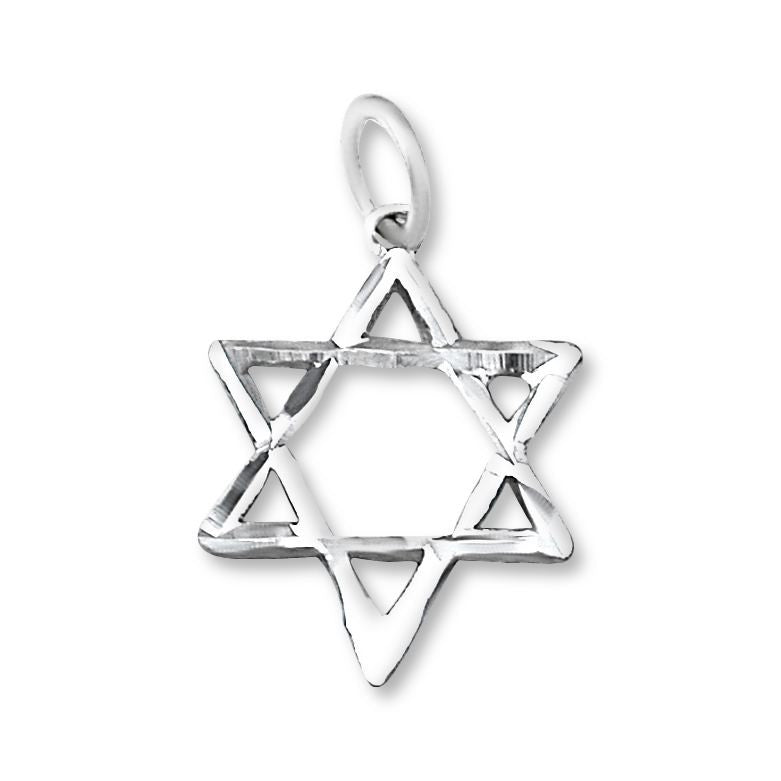 P-2320 Jewish Star of David Charm | Teeda