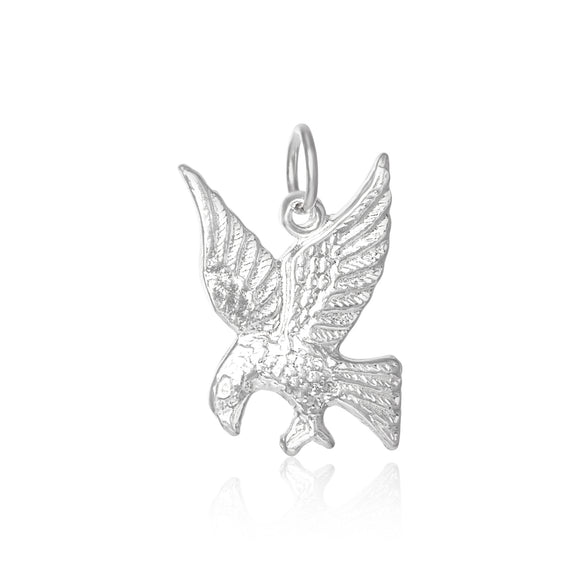 P-3530 Eagle Hawk Falcon Bird Charm | Teeda