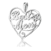 P-4880 Best Mom Heart Charm | Teeda