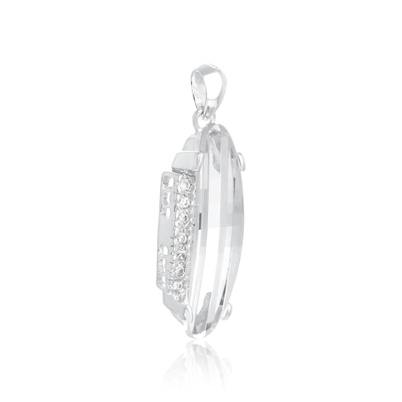 PZ-7005 Faceted CZ Pendant | Teeda