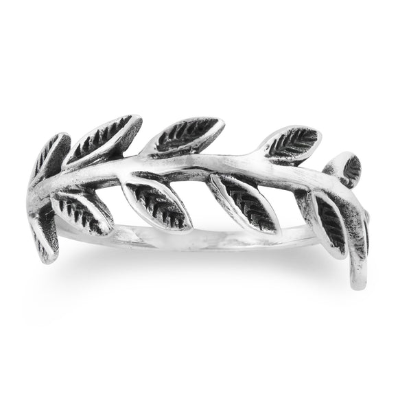 R-2037 Laurel Wreath Ring | Teeda