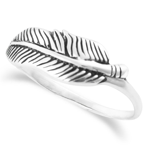 R-2038 Feather Ring | Teeda