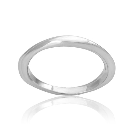 R-2054 Knife Edge Flat Top Ring | Teeda