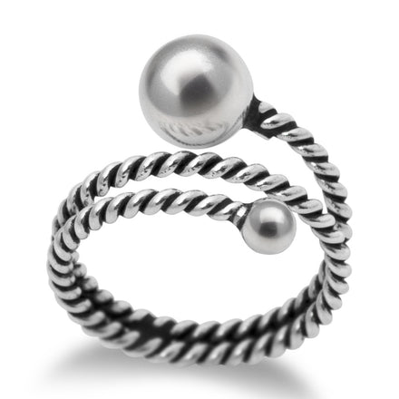 R-2063 Twisted Wire Wrap Ring | Teeda
