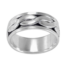 R-9000 Men's Spin Spinning Ring | Teeda