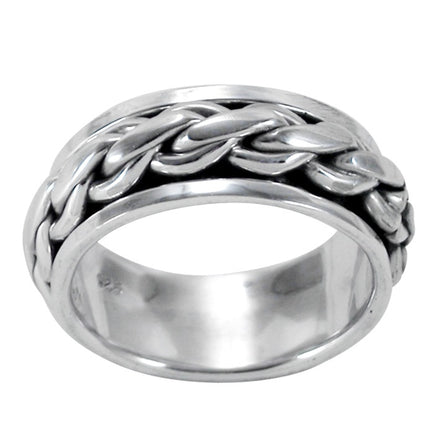 R-9070 Men's Spin Spinning Ring | Teeda