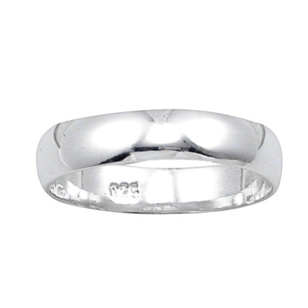 RB-040 Classic Wedding Band 4mm | Teeda