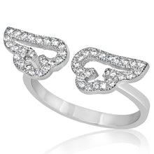 RZ-1661 Angel Wings CZ Ring | Teeda