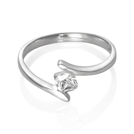 RZ-2030 Ring with CZ Cubic Zirconia | Teeda