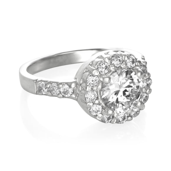 RZ-2360 CZ Topiary Crown Ring | Teeda