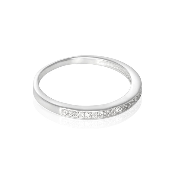 RZ-3006 Cubic Zirconia Band Ring | Teeda