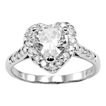 RZ-3230 Heart Cut CZ Ring | Teeda