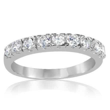 RZ-6480 Band CZ Ring | Teeda