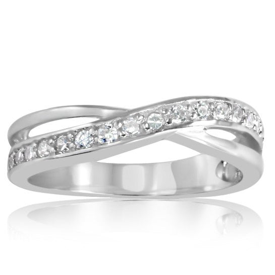 RZ-6500 Band CZ Ring | Teeda