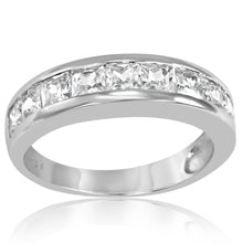 RZ-6510 Channel Set Band CZ Ring | Teeda