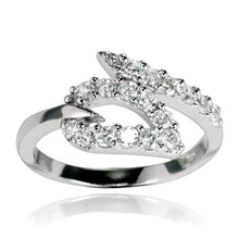 RZ-7053 Open Heart  CZ Ring | Teeda