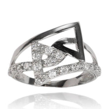 RZ-7064 Angles CZ Ring | Teeda
