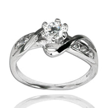 RZ-7072 Wave CZ Ring | Teeda