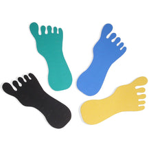 S-TR024 Foot Shaped Toe Ring Foam Pad fits 24 Toe Rings | Teeda