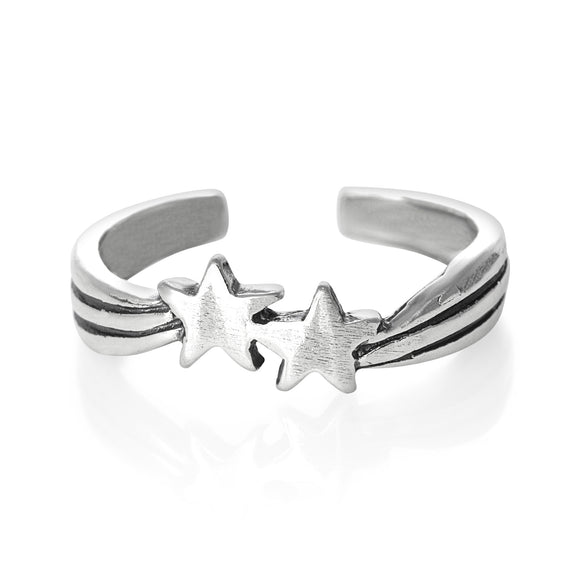 TR-1390 Shooting Stars Toe Ring | Teeda