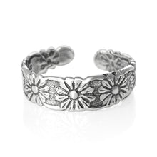 TR-1480 Flower Toe Ring | Teeda