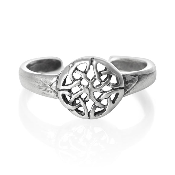 TR-1600 Flower Toe Ring | Teeda