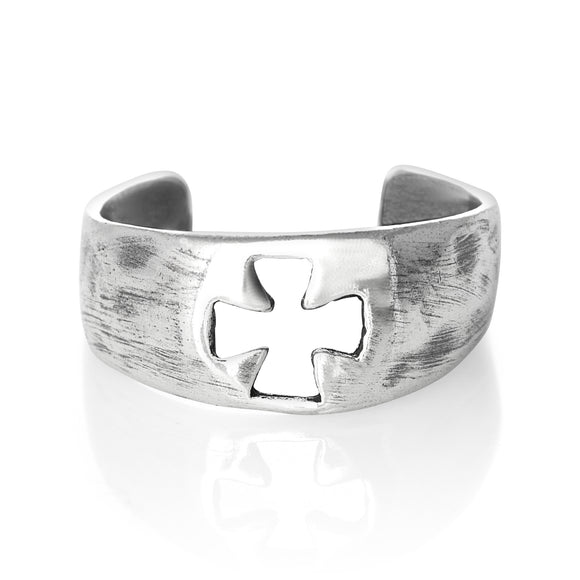TR-1740 Cross Toe Ring | Teeda