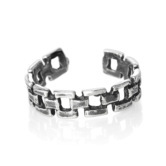 TR-1770 Links Toe Ring | Teeda