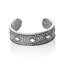 TR-1840 Diamond Toe Ring | Teeda