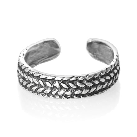 TR-1850 Rope Braid Toe Ring | Teeda