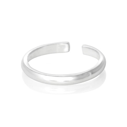 TR-2020 Plain Band Toe Ring | Teeda