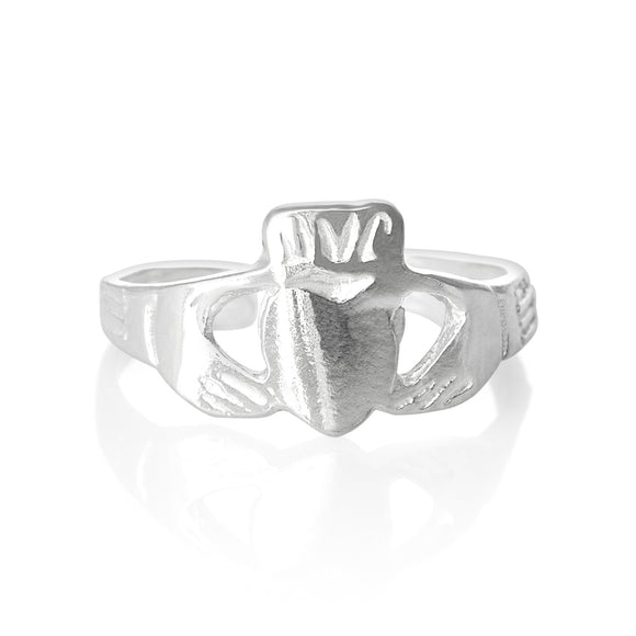 TR-2080 Claddagh Heart Toe Ring | Teeda